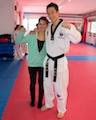 Soraya mit dem Meister