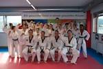 Gruppenfoto mit Meister Kim Minsoo