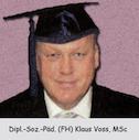 Obmann Stv. Klaus Voss: Sponsion zum 'Master of Science in Management MSC'