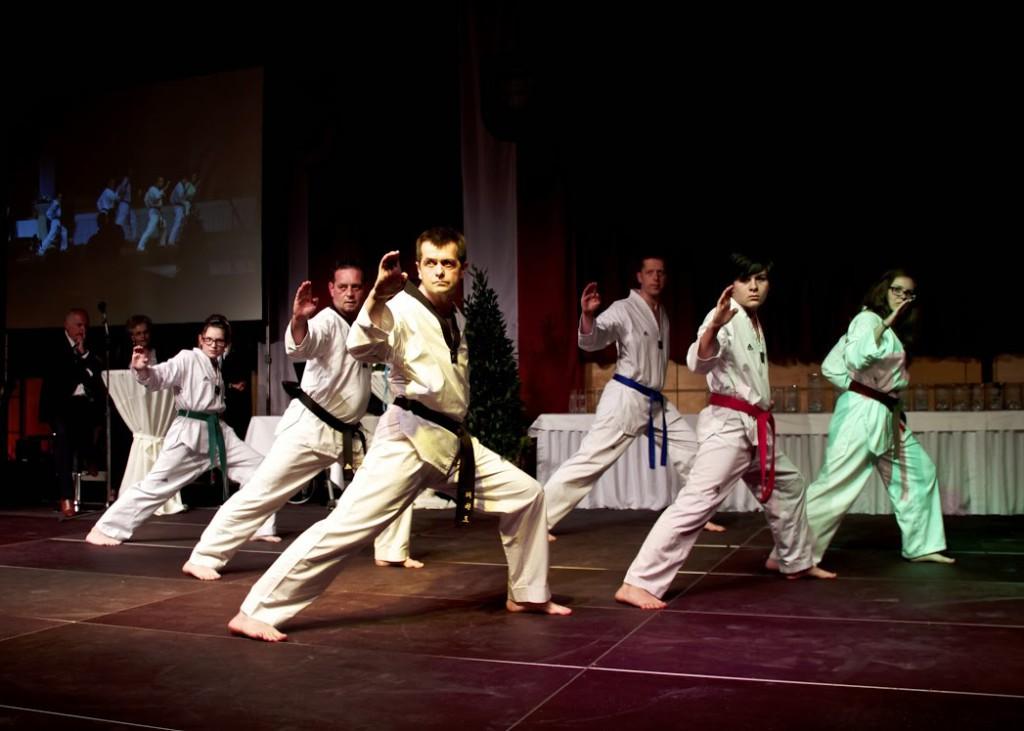 Taekwondo-Show bei der Sportlerehrung 2013