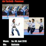 Tiroler Meisterschaft Poomsae 2018 in Kufstein!!