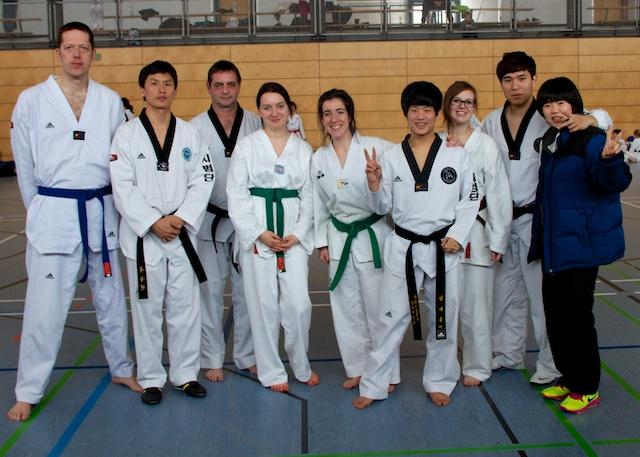 Gruppenfoto mit dem Demo-Team